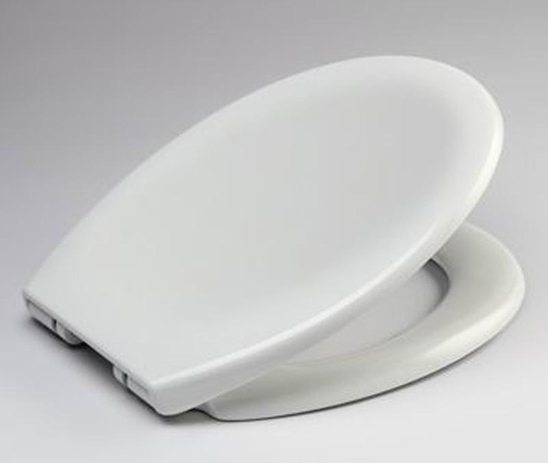 wc sitz toilettendeckel kunststoff absenkautomatik toilettensitz deckel 2327 ebay. Black Bedroom Furniture Sets. Home Design Ideas
