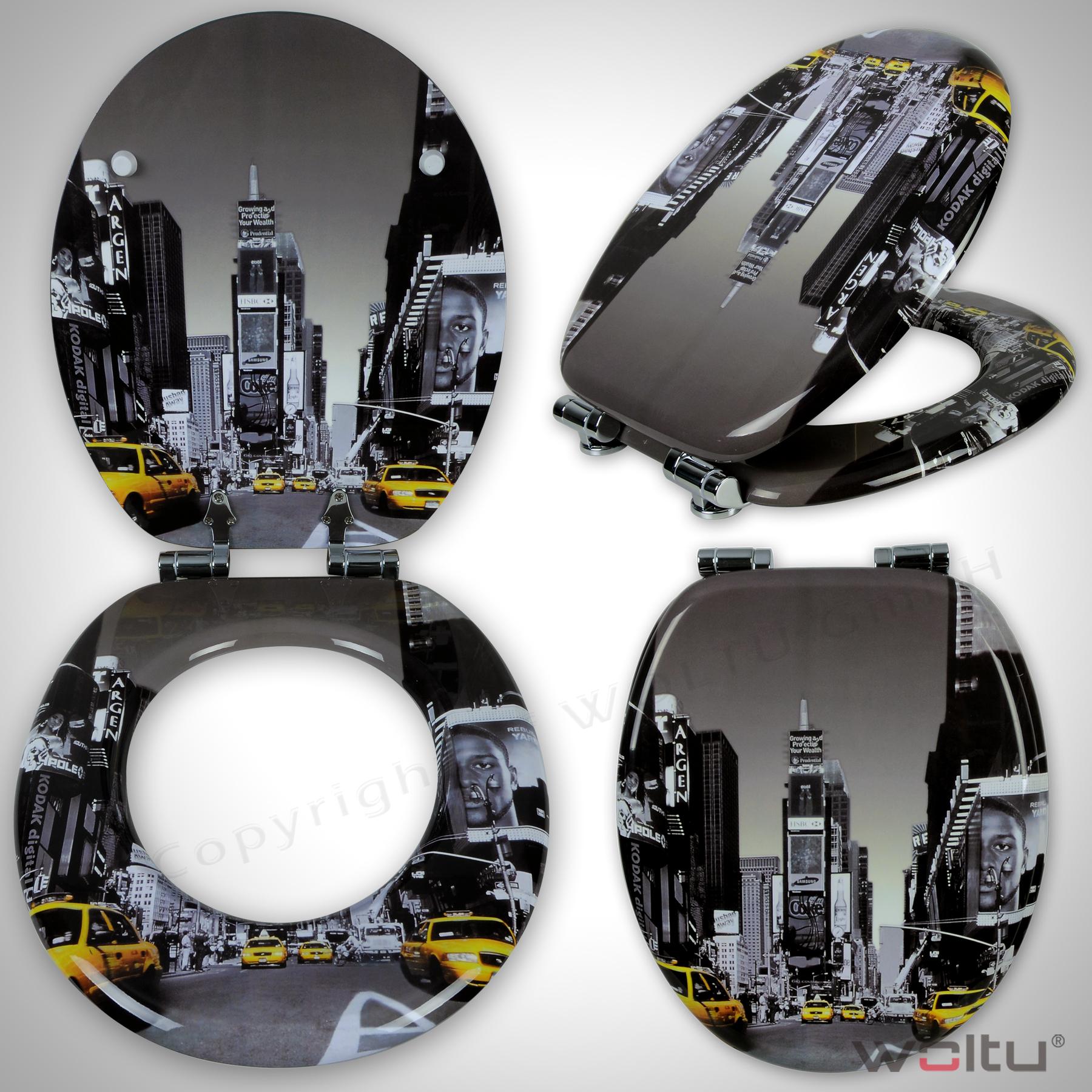 wc sitz toilettensitz klodeckel brille deckel. Black Bedroom Furniture Sets. Home Design Ideas