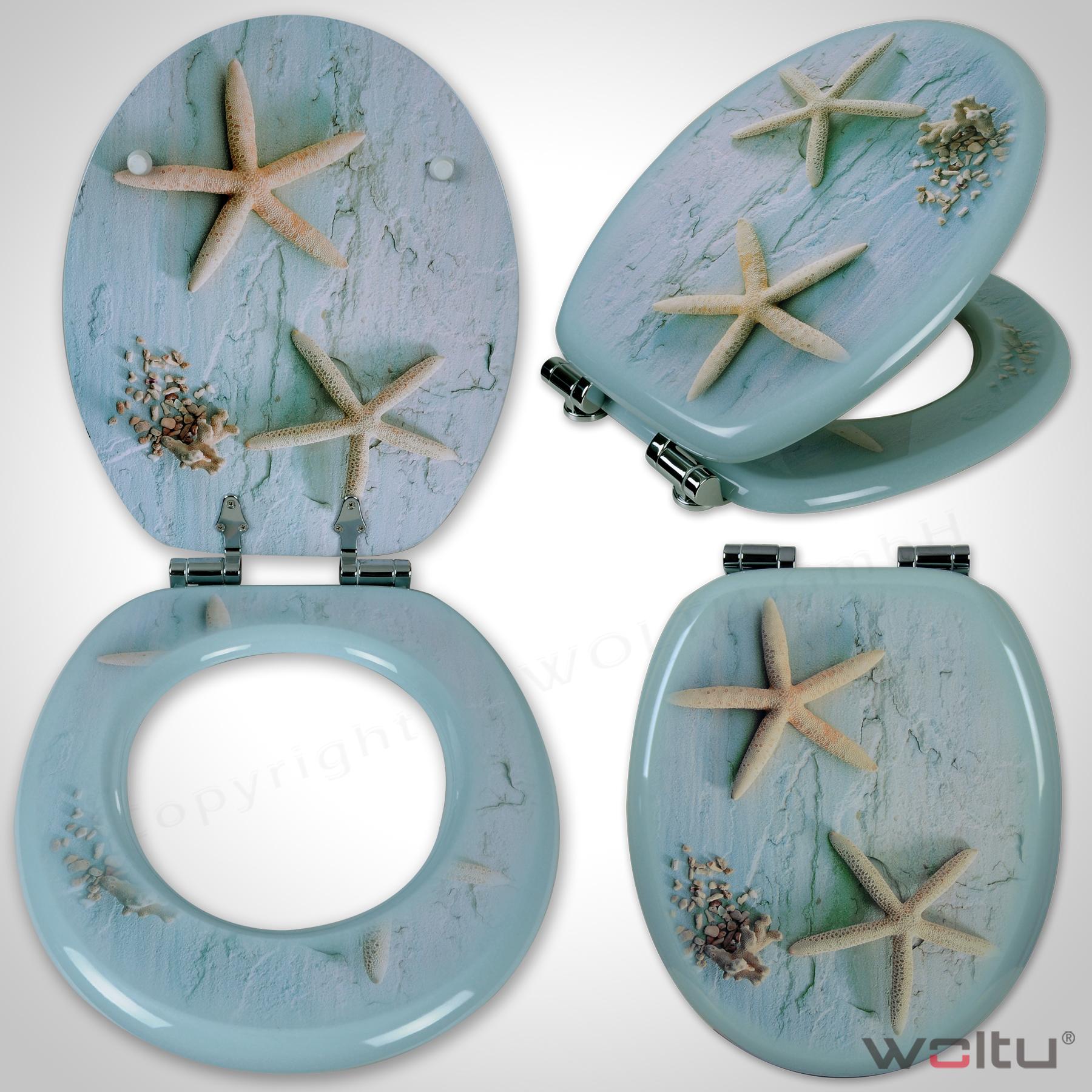 abattant de toilette couvercle de wc couvercle de toilette f179 ebay. Black Bedroom Furniture Sets. Home Design Ideas
