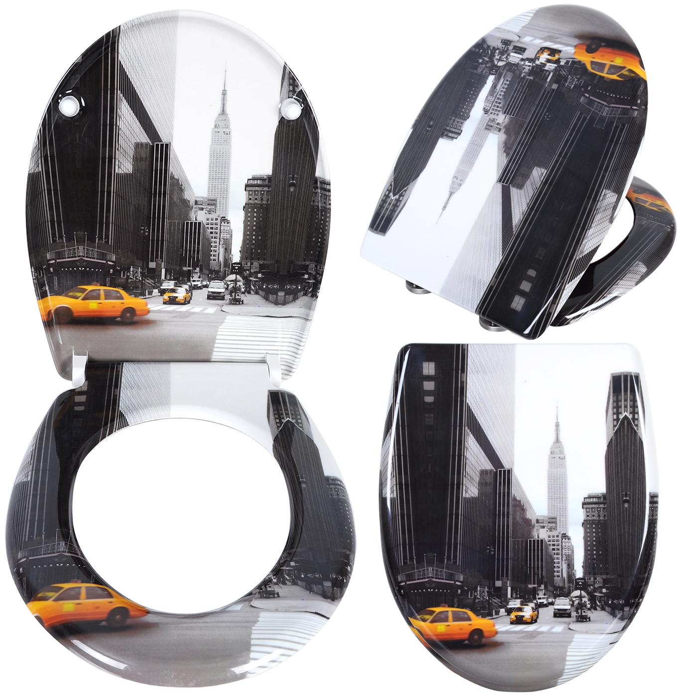 wc sitz toilettendeckel duroplast absenkautomatik. Black Bedroom Furniture Sets. Home Design Ideas