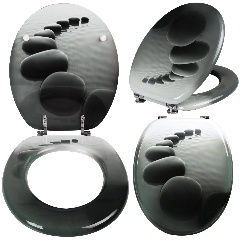 wc sitz toilettensitz toilettendeckel mdf absenkautomatik klodeckel deckel 144 ebay. Black Bedroom Furniture Sets. Home Design Ideas