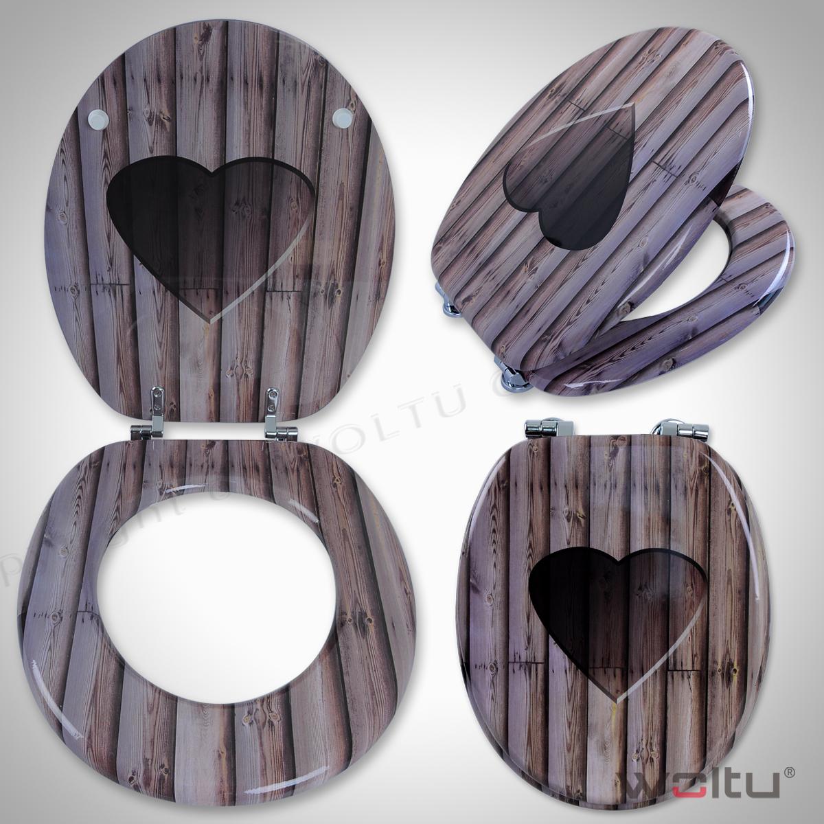 toilettensitz klodeckel wc sitz brille deckel toilettendeckel sitze schwarz 163. Black Bedroom Furniture Sets. Home Design Ideas