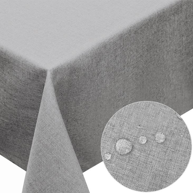 nappe du table en lin carr ronde ovale diverses couleurs au choix f158 ebay. Black Bedroom Furniture Sets. Home Design Ideas