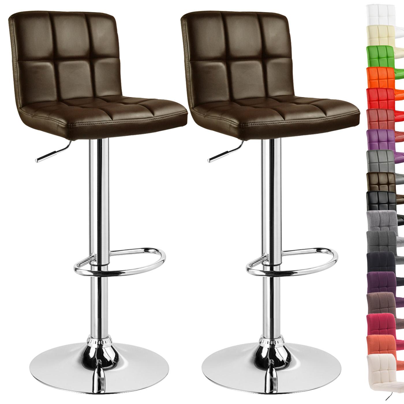 Barhocker barstuhl design stuhl gepolstert kunstleder for Barhocker 24