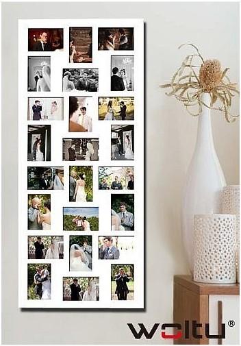 bilderrahmen collage bildergalerie foto galerie rahmen weiß silber,