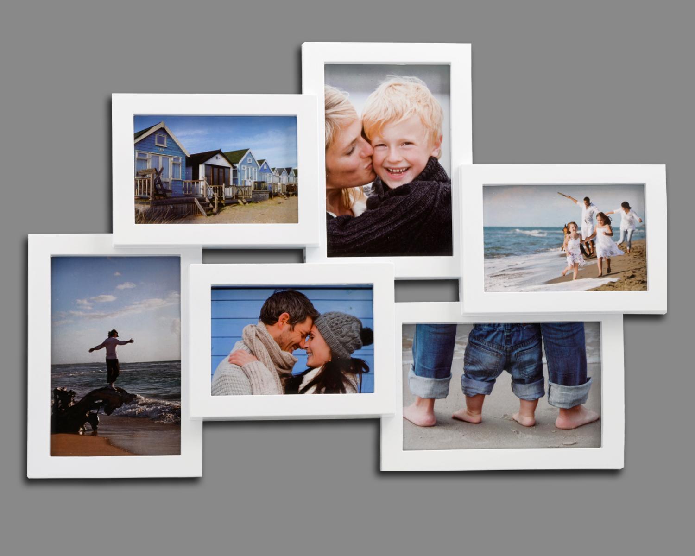Bilderrahmen Fotogalerie 6 Bilder Kunststoff Bildergelarie Collage ...