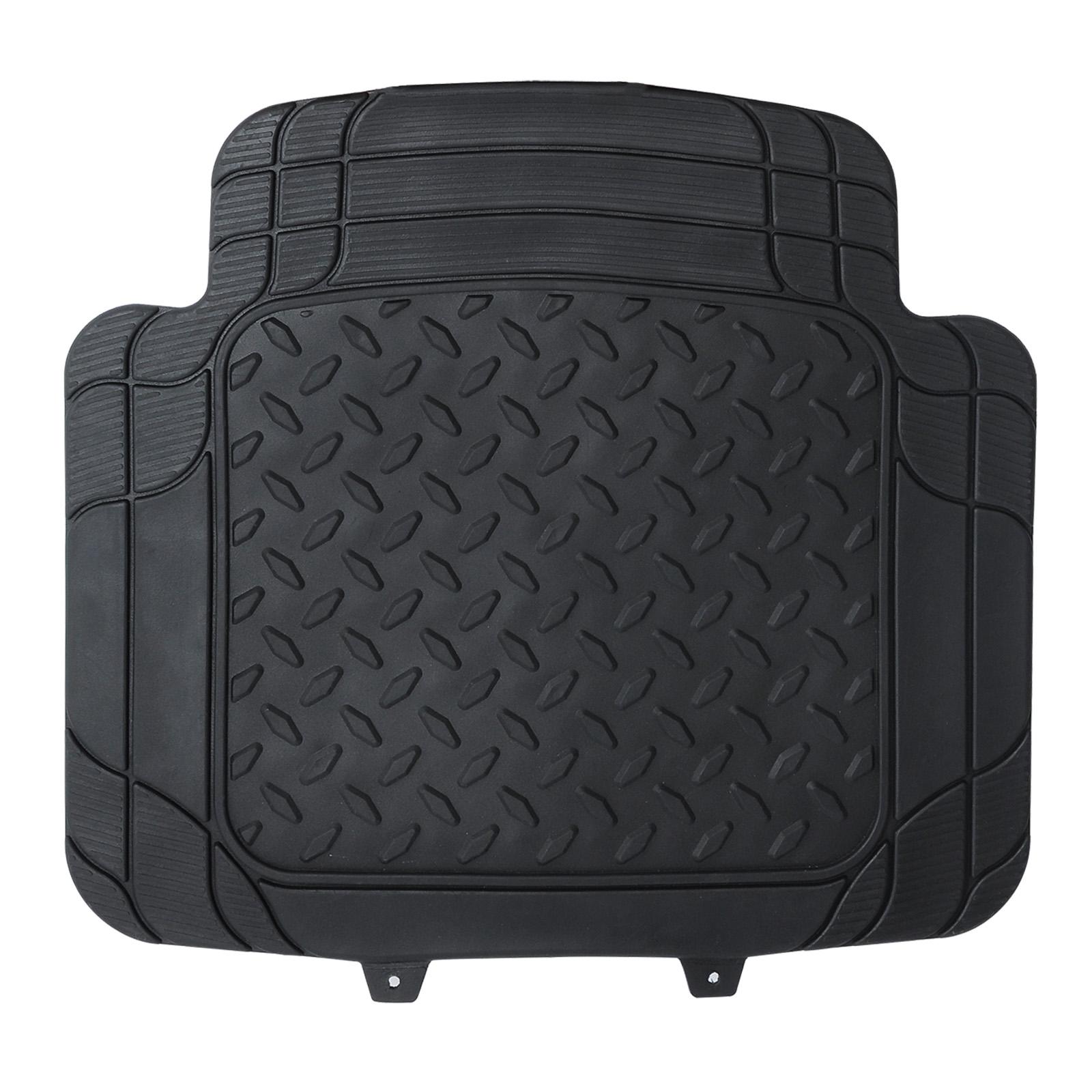 universal auto fu matten gummi matte riffelblech 4 teilig rot am7176rt. Black Bedroom Furniture Sets. Home Design Ideas