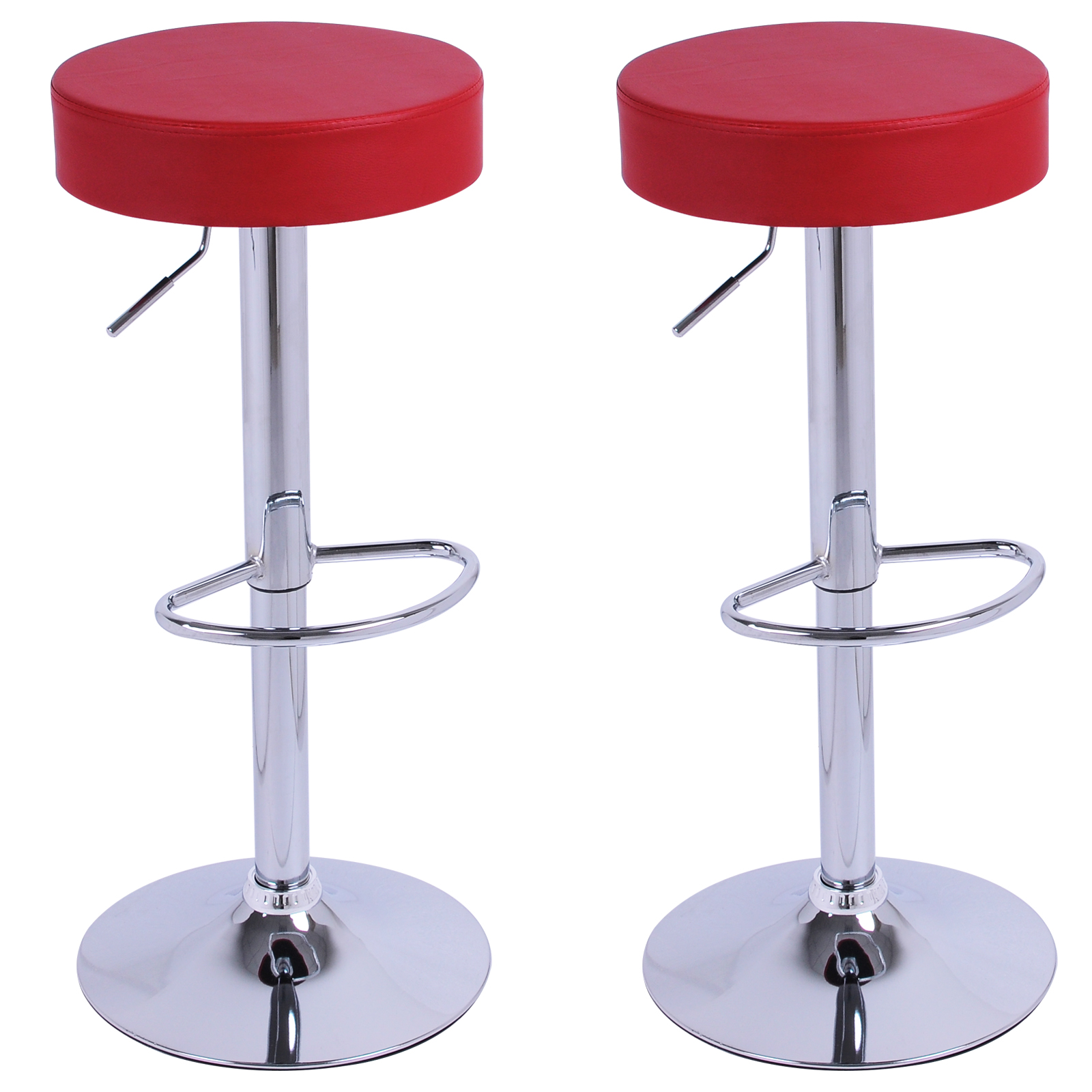 Bar Stools set of 21 Faux Leather Adjust Breakfast Chair  : BH120bd0 from www.ebay.co.uk size 1600 x 1600 jpeg 559kB