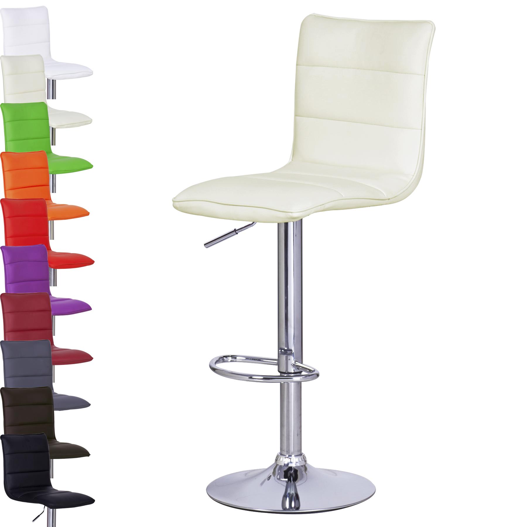 Barhocker barstuhl 2x tresen hocker kunstleder stuhl for Barhocker 86 cm