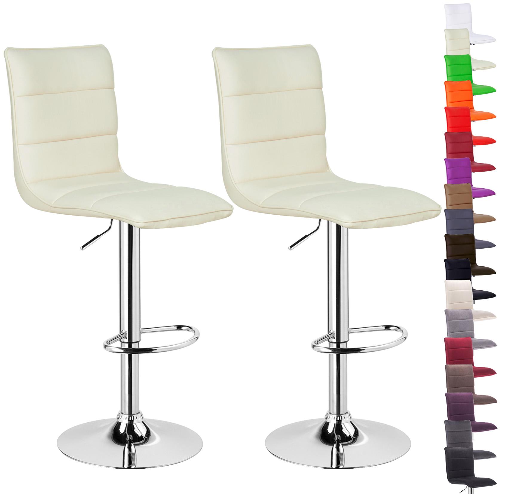 Fabelhaft Stuhl Gepolstert Sammlung Von Barhocker-barstuhl-2x-tresen-hocker-kunstleder-stuhl-gepolstert-
