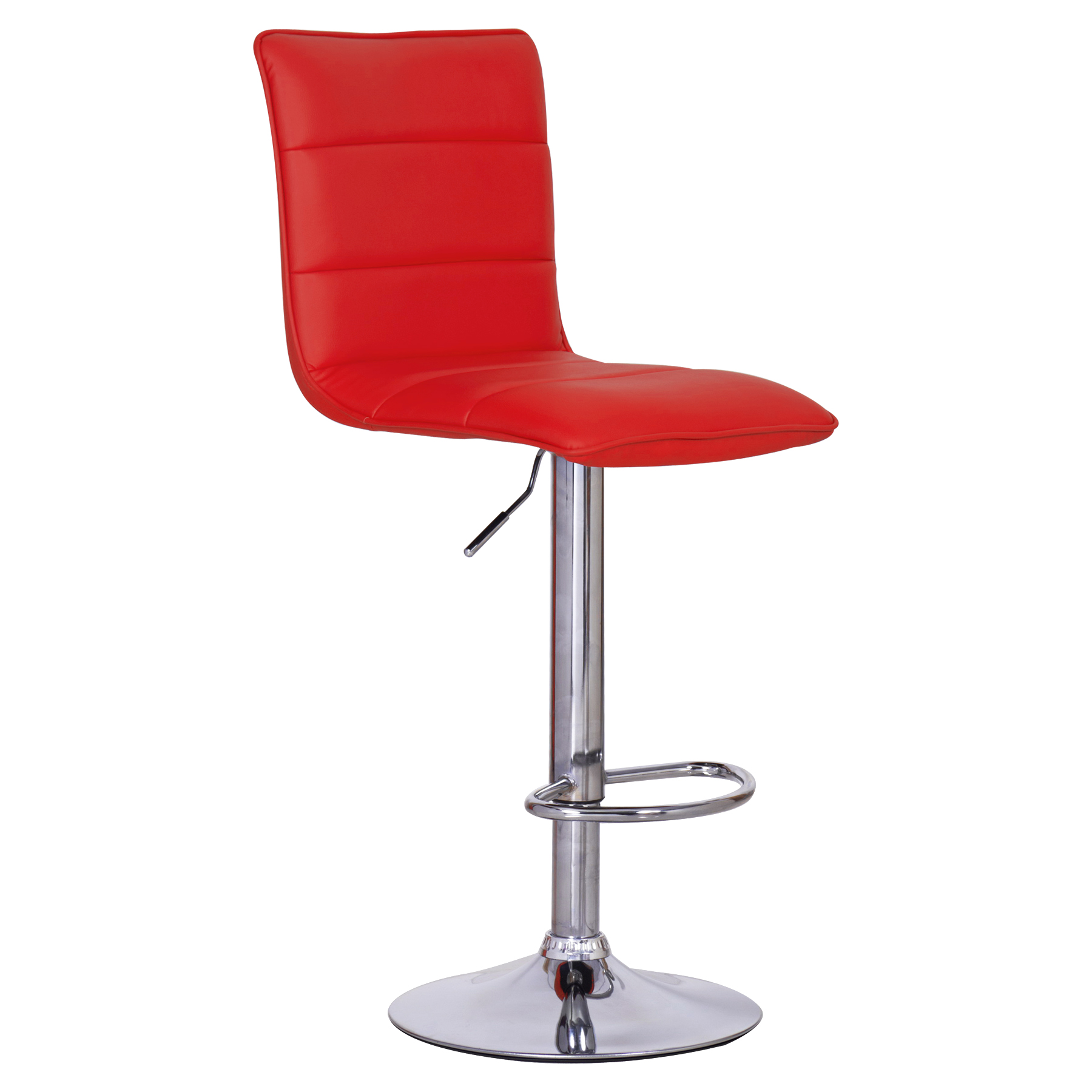 Faux Leather Bar Stools Swivel Bar Stool Kitchen Breakfast