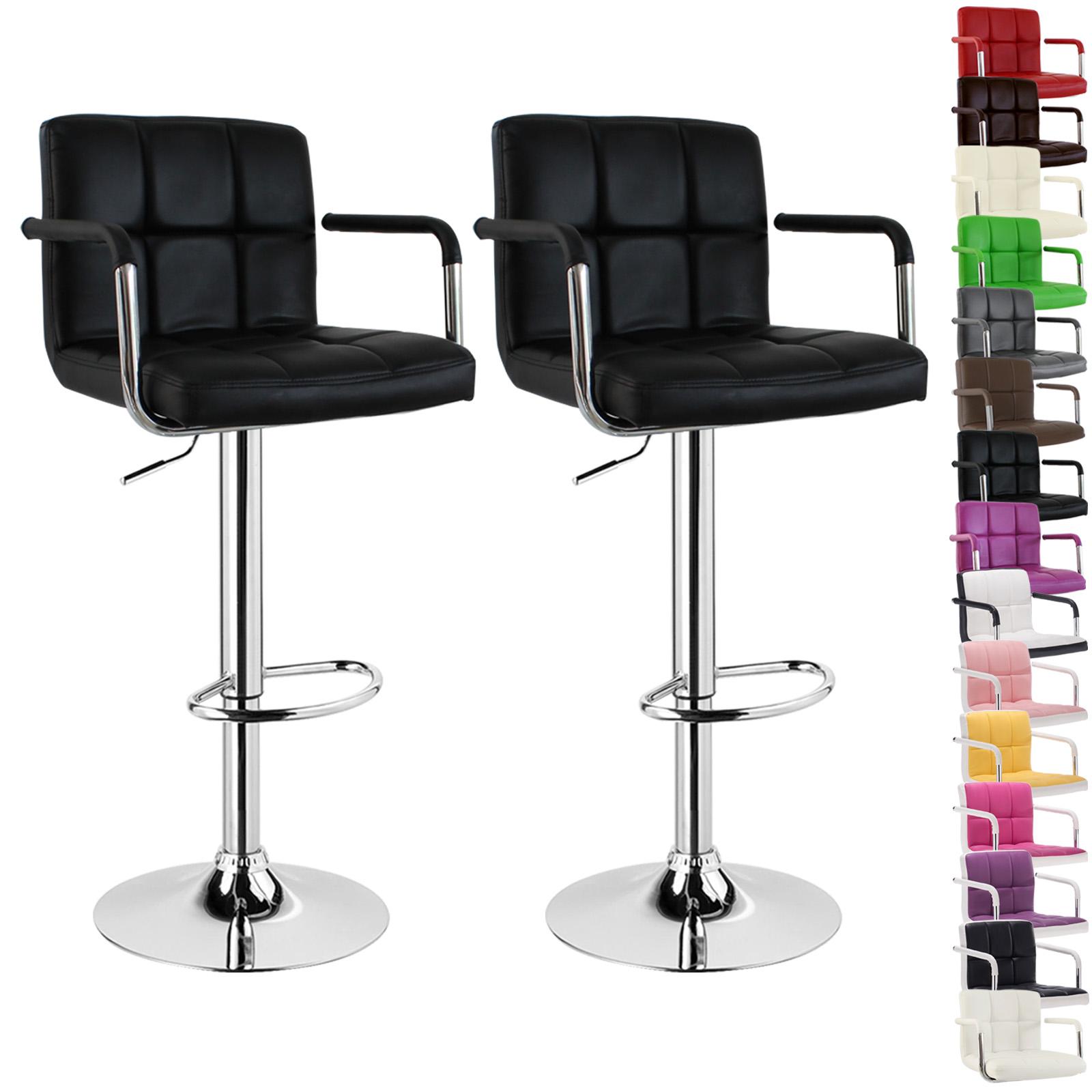 barhocker barstuhl barsessel kunstleder tresenhocker bar hocker schwarz 331 ebay. Black Bedroom Furniture Sets. Home Design Ideas