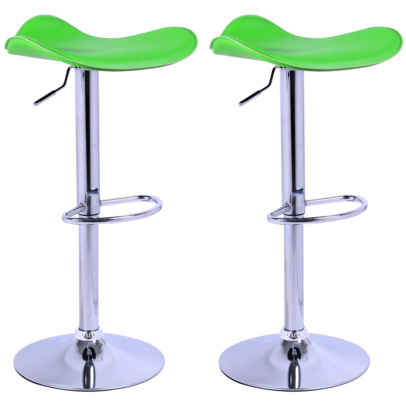 Green Kitchen Stools: Bar Stools Set Of 2/1 Breakfast Kitchen Chair Adjustable