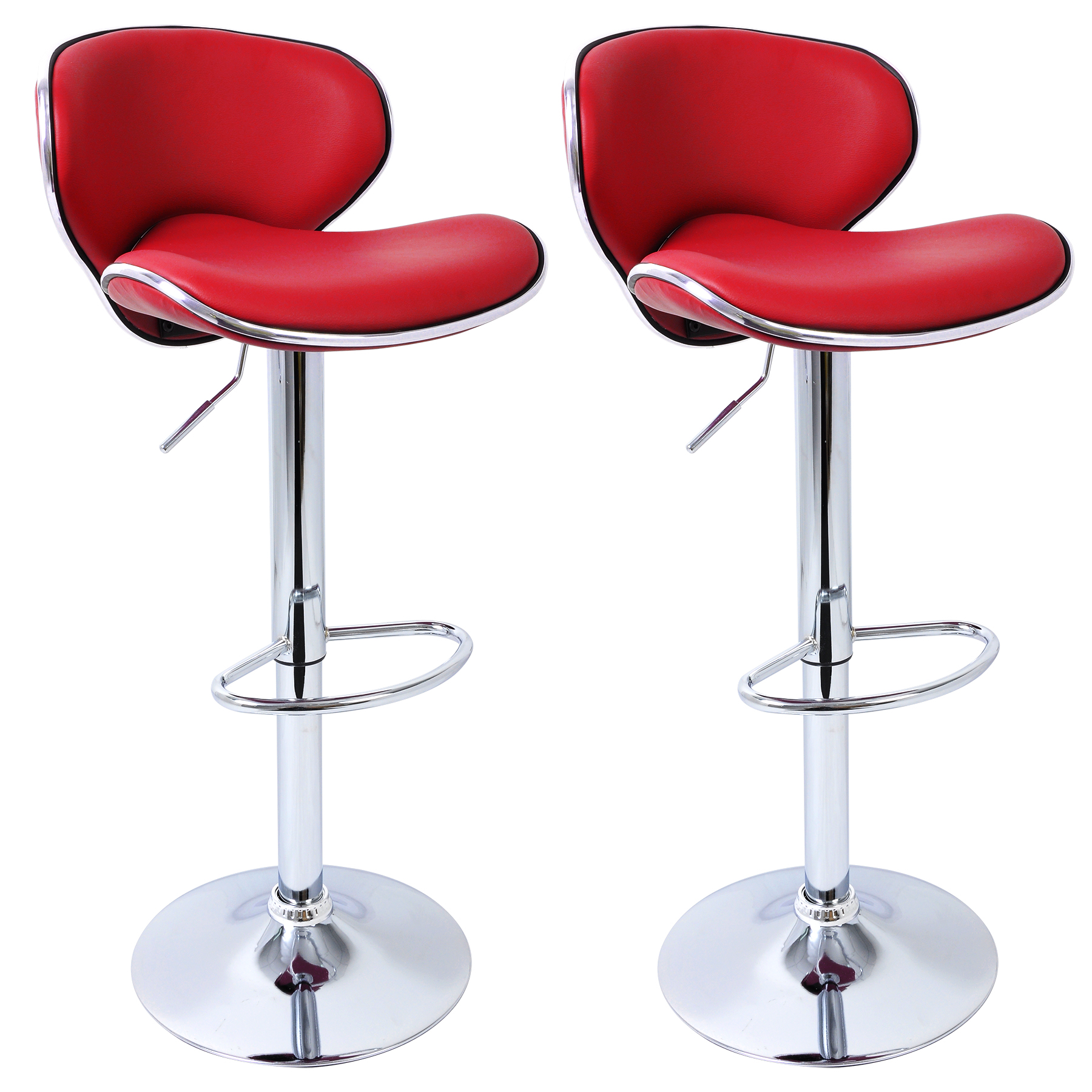 Bar Stools set of 21 Faux Leather Adjust Breakfast Chair  : BH19bd 2N1 from www.ebay.co.uk size 1800 x 1800 jpeg 1193kB
