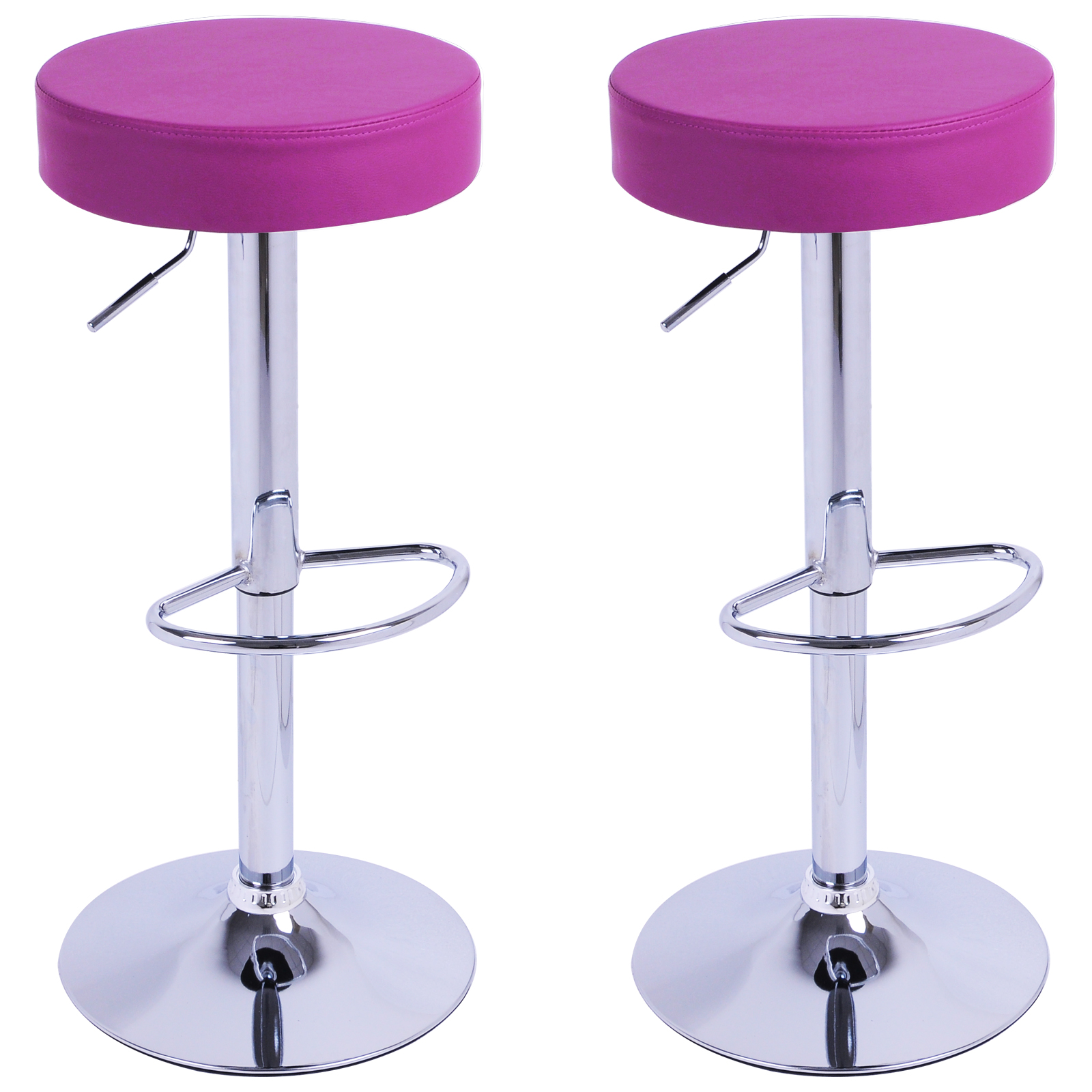 R glable lot de 2 cuisine tabouret de bar en pu 1 for Bar pivotant cuisine