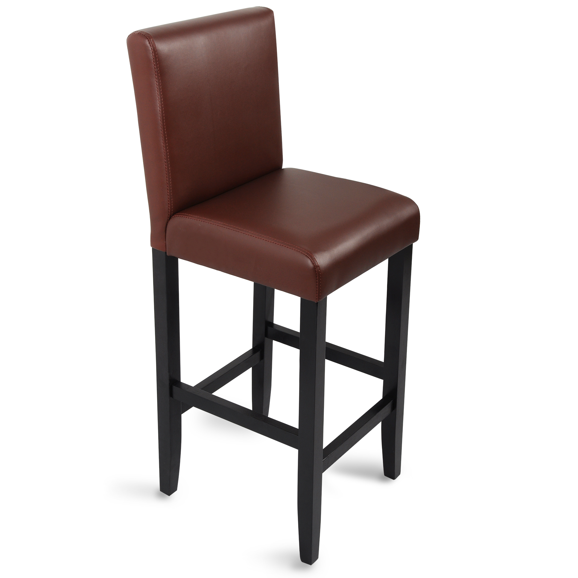 Bar stools barstool wood breakfast kitchen adjustable for Stool chair