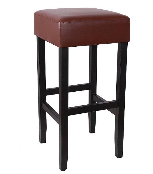 8 x barhocker bistrohocker tresenstuhl holz kunstleder. Black Bedroom Furniture Sets. Home Design Ideas