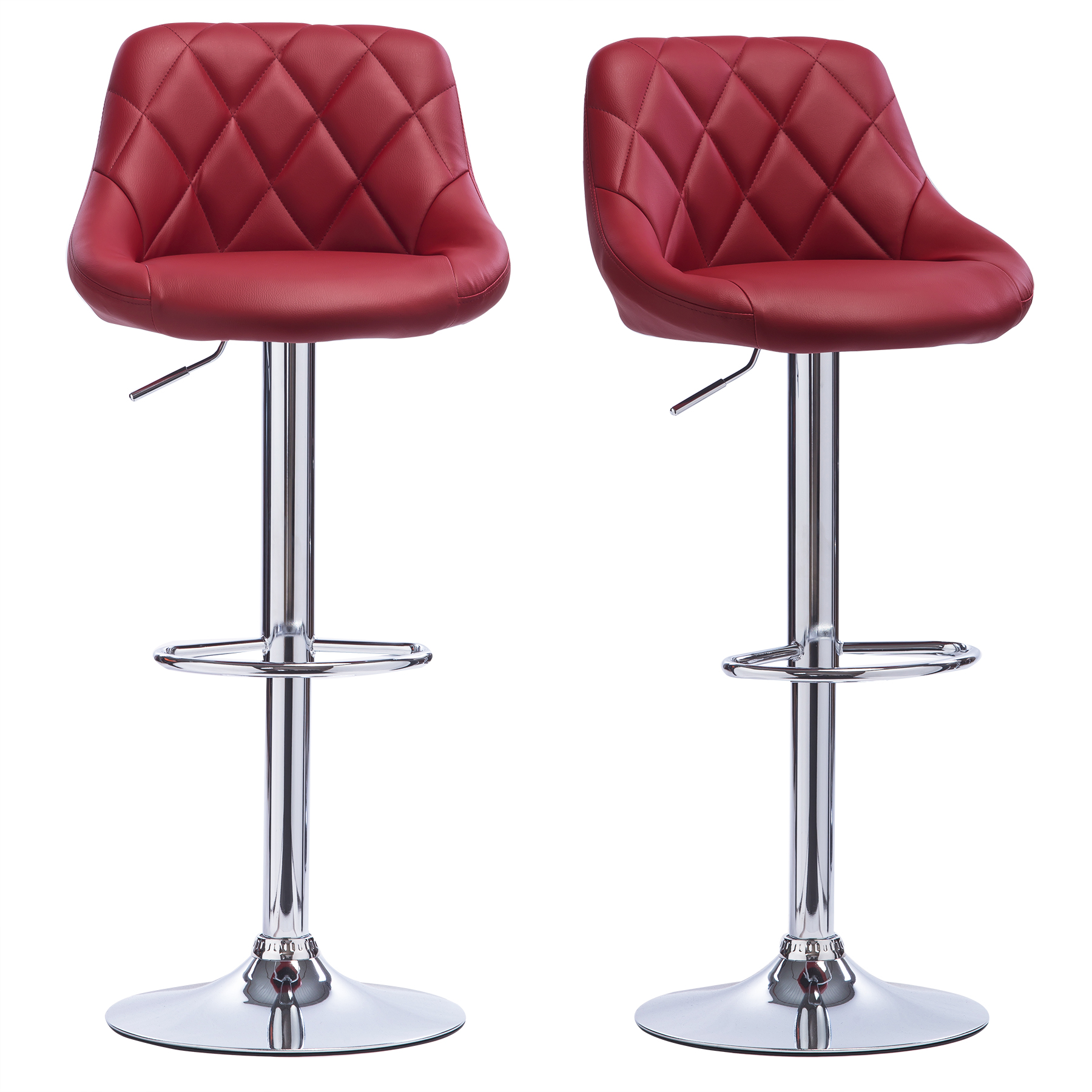 Bar Stools set of 21 Faux Leather Adjust Breakfast Chair  : BH23bd 20 from www.ebay.co.uk size 1800 x 1800 jpeg 888kB