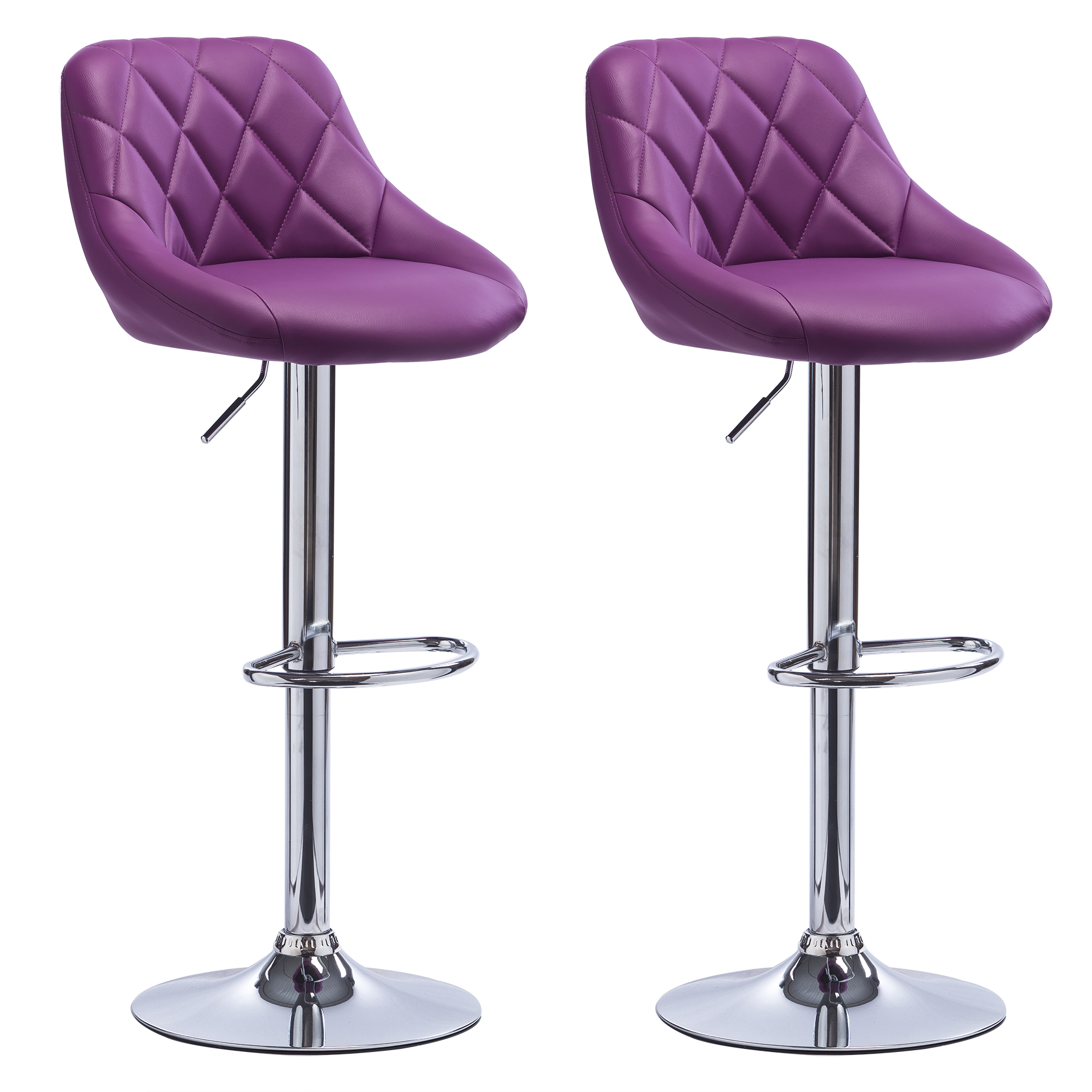 2 x Bar Stools Faux Leather Swivel Breakfast Kitchen Stool  : BH23vl 2N1 from www.ebay.co.uk size 1800 x 1800 jpeg 911kB