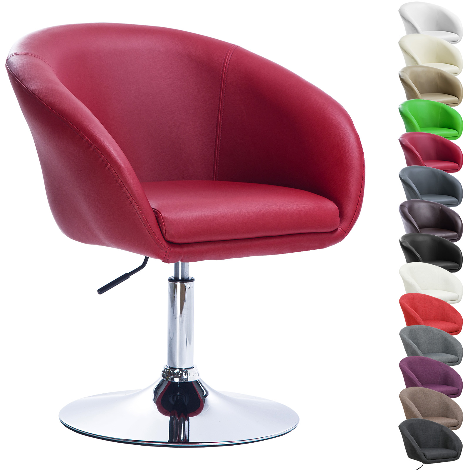 barhocker 2er barst hle tresenhocker stuhl hocker kunstleder sitz bordeaux 156 ebay. Black Bedroom Furniture Sets. Home Design Ideas