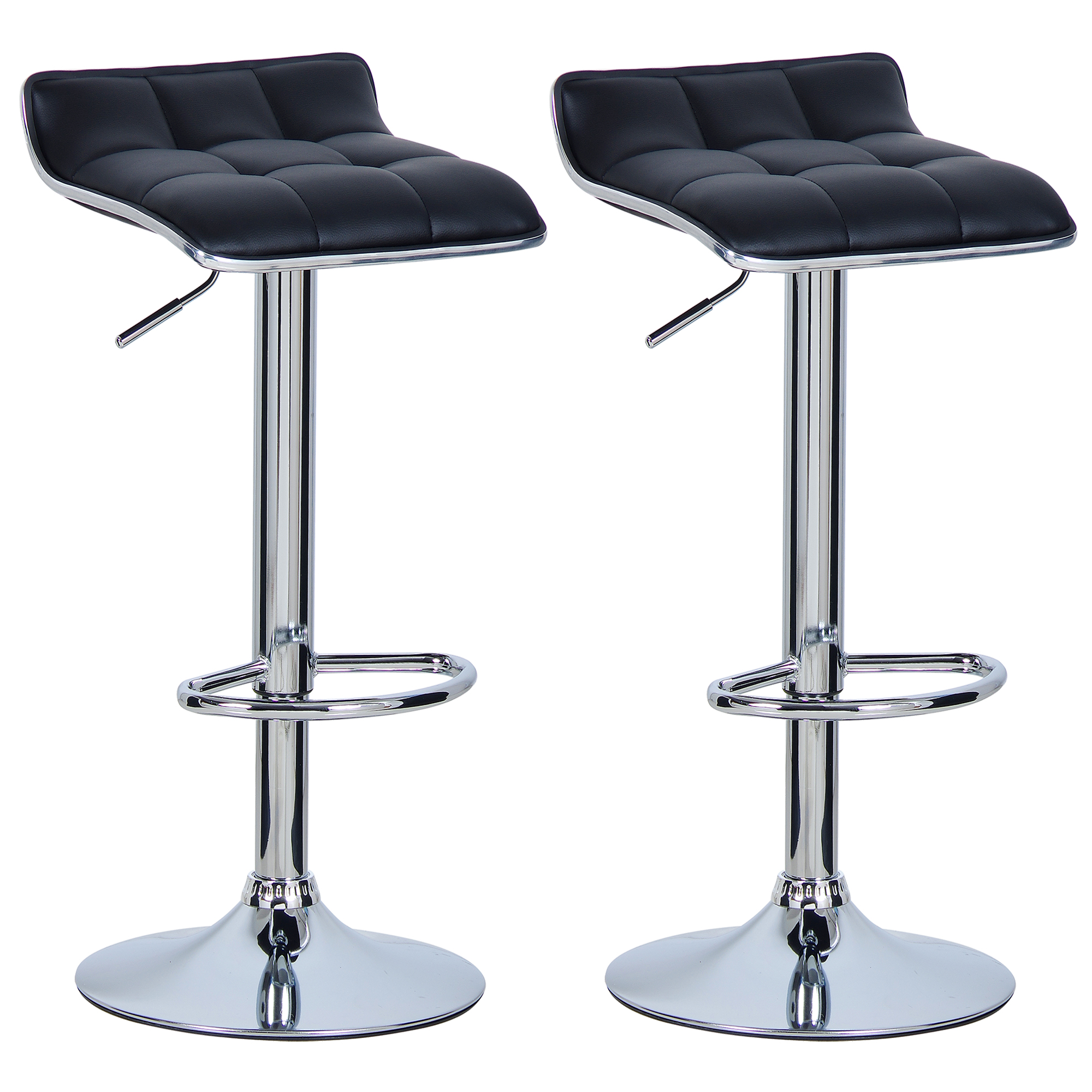 Set Of 2 Bar Stools Barstool Breakfast Kitchen Stool Chair