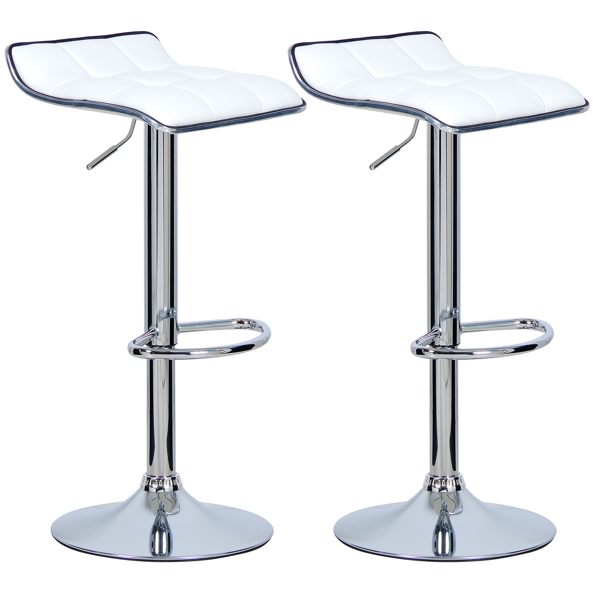 Set Of 2 Bar Stools Barstool Breakfast Kitchen Stool Chair