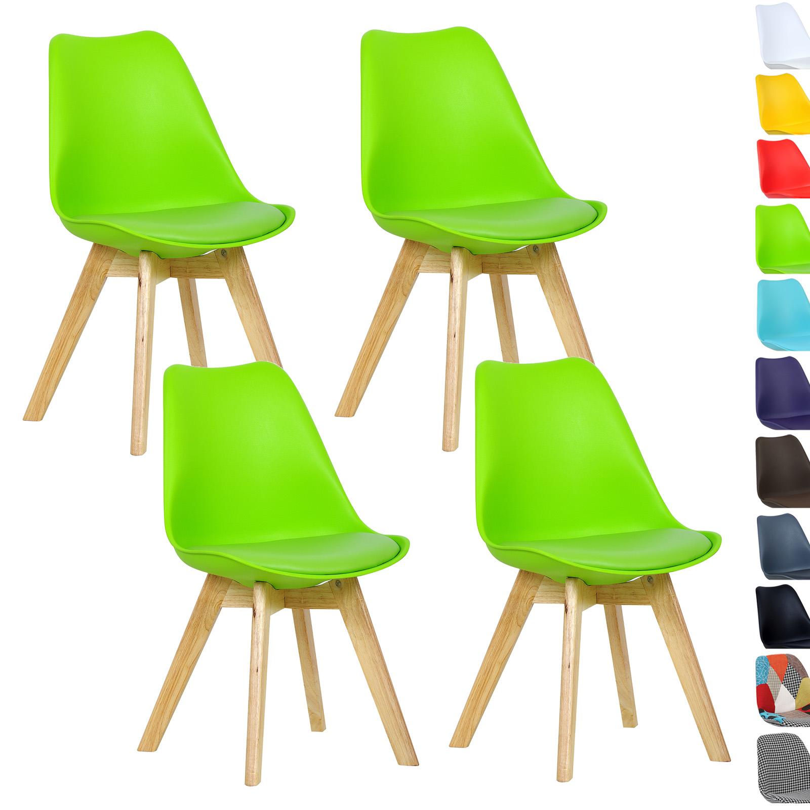 Bezaubernd Esszimmerstühle Grün Dekoration Von 4 X Esszimmerstühle Esszimmerstuhl Bürostuhl Küchenstuhl Holz