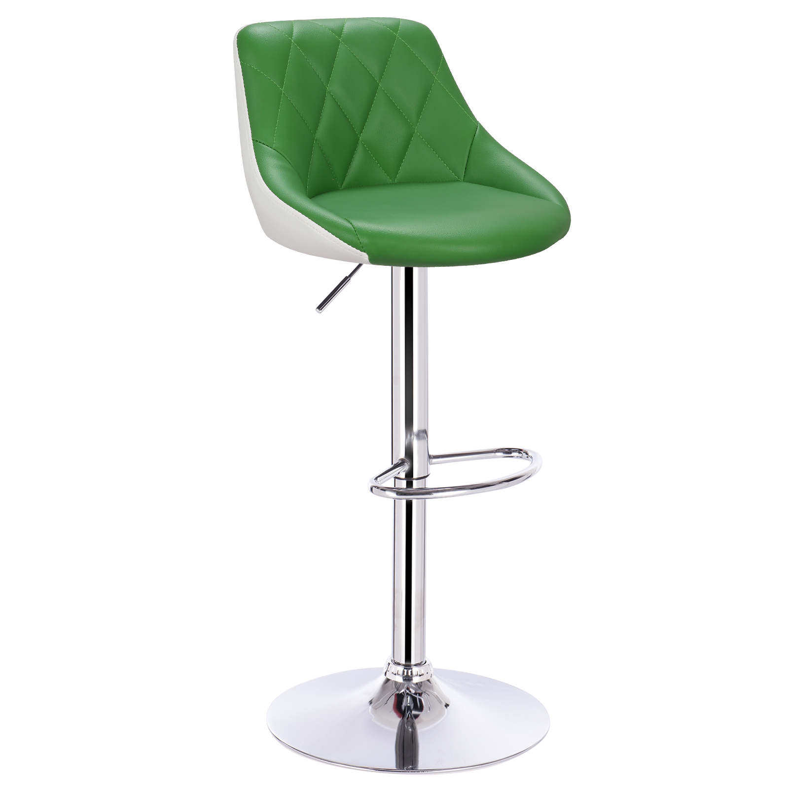 barhocker tresenstuhl hocker mit lehne h henverstellbar kunstleder metall 1051 ebay. Black Bedroom Furniture Sets. Home Design Ideas
