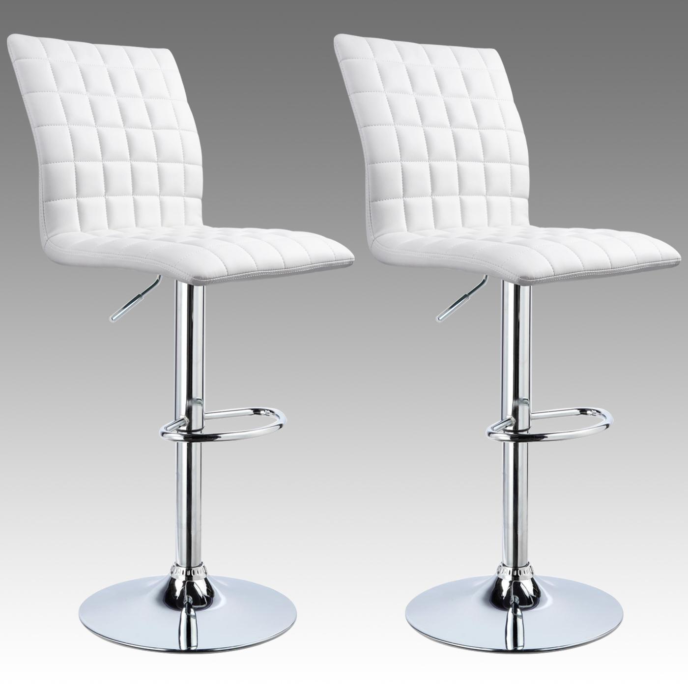 2er set barhocker tresenhocker k chenhocker kunstleder barstuhl schwarz 450 ebay. Black Bedroom Furniture Sets. Home Design Ideas