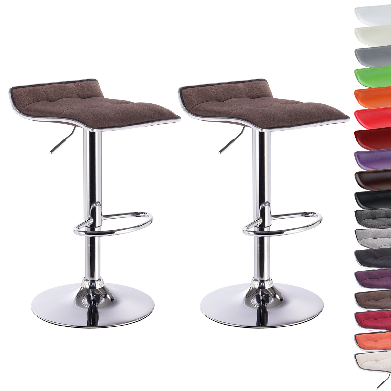 2 x barhocker barstuhl drehstuhl hocker lounge design bar for Design lounge stuhl