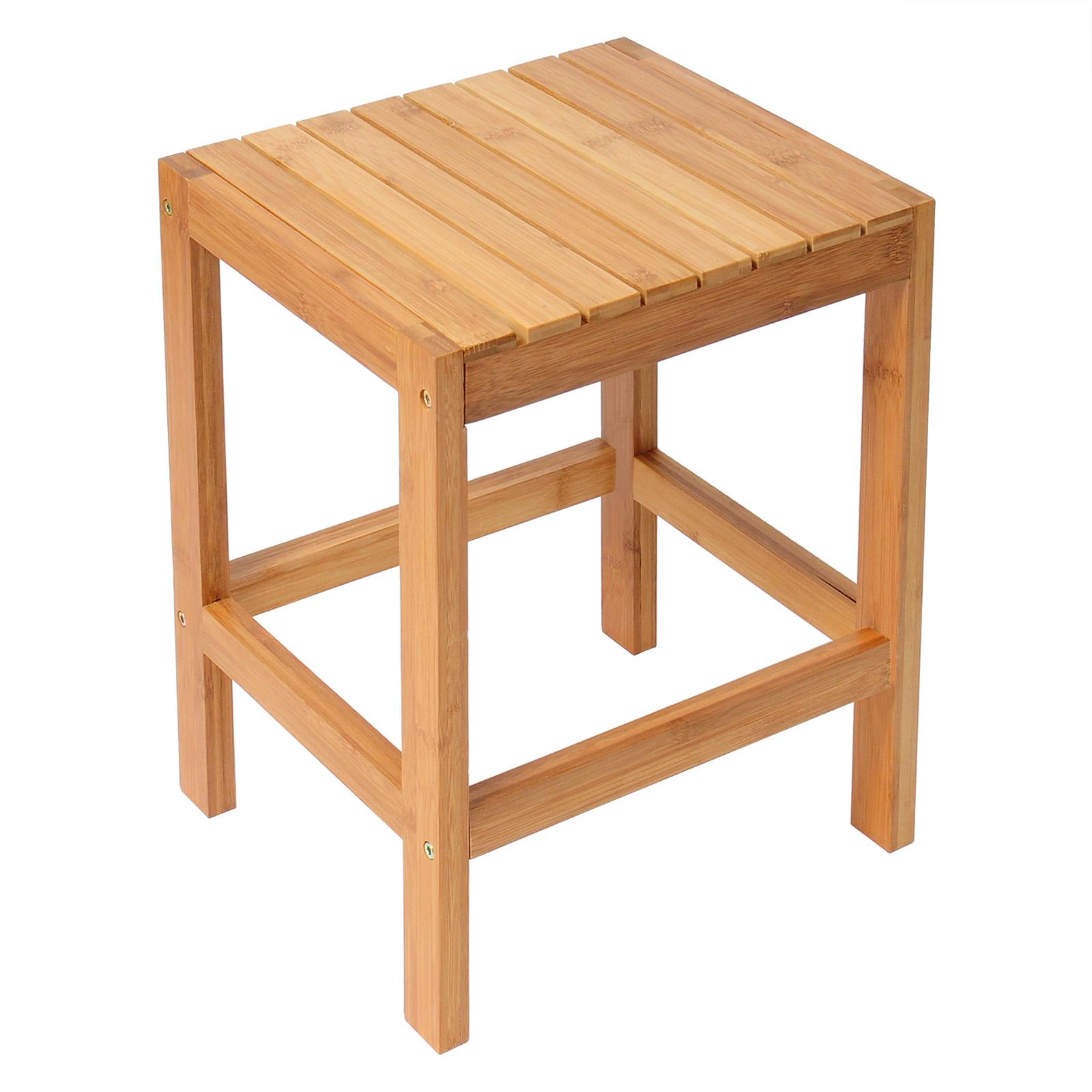 Sitzhocker bambushocker beistelltisch bambus blumenhocker for Couchtisch bambus