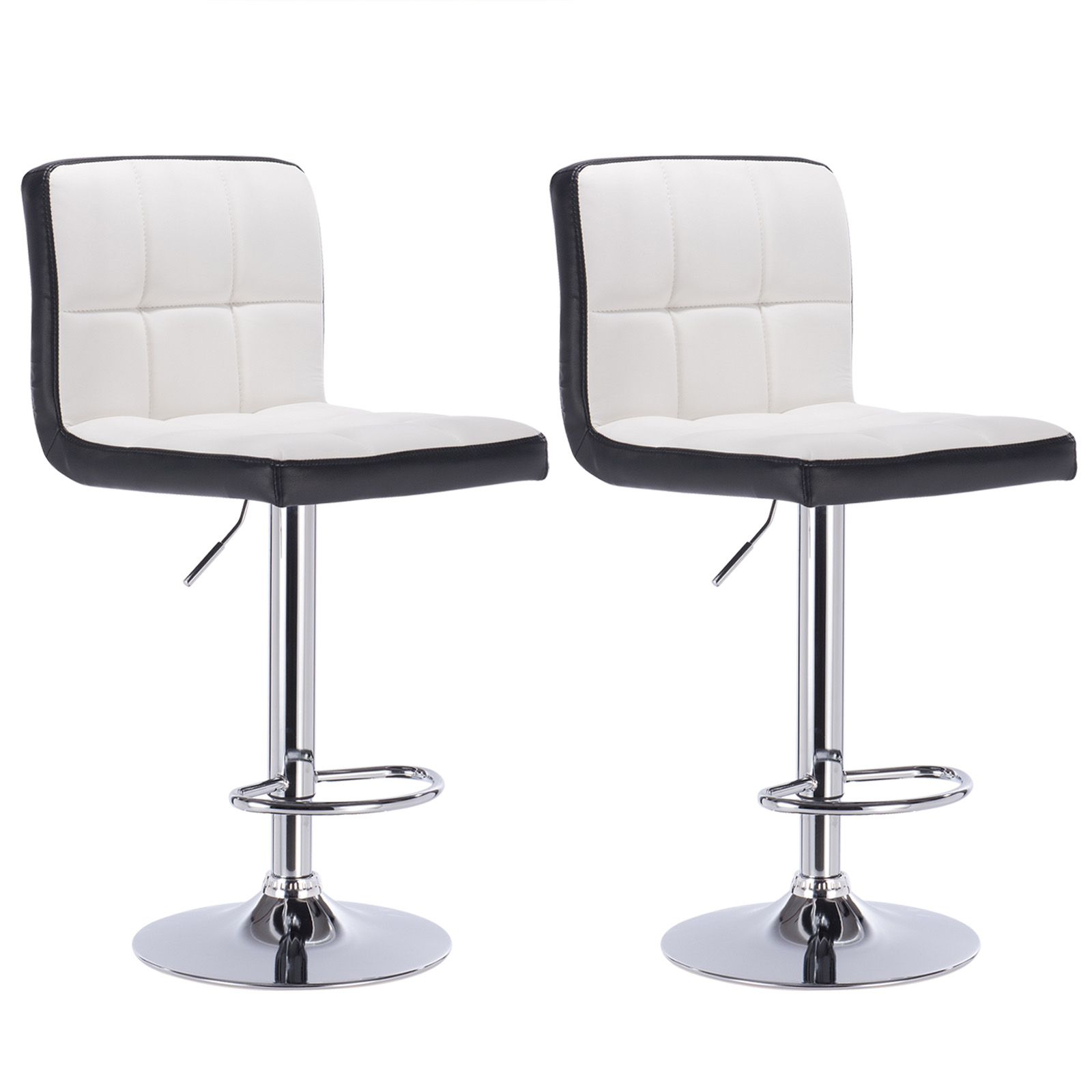 Bar Stools Swivel Kitchen Breakfast Bar Stool Set of 2 ...