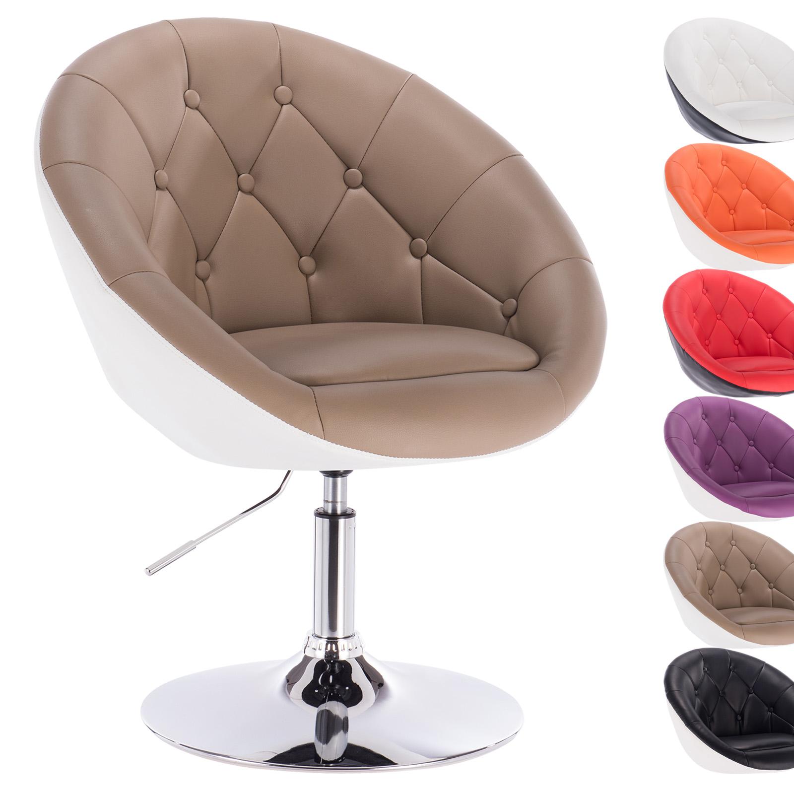 1 fauteuil chaise longue avec accoudoir en similicuir pour salon ou au caf f092 ebay. Black Bedroom Furniture Sets. Home Design Ideas