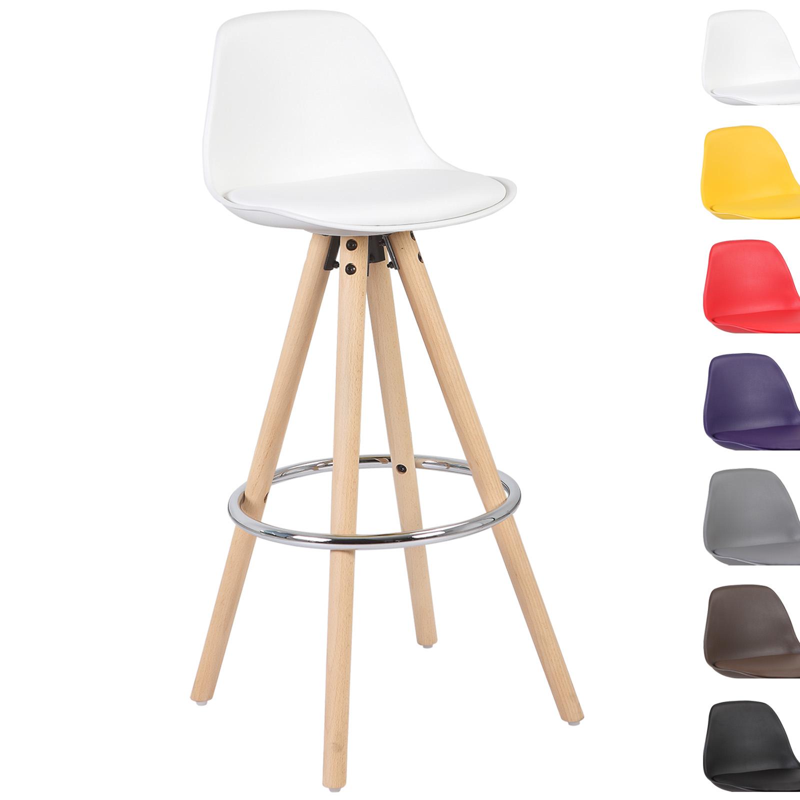 barhocker tresenhocker barstuhl massivholz mit lehne 1 x. Black Bedroom Furniture Sets. Home Design Ideas
