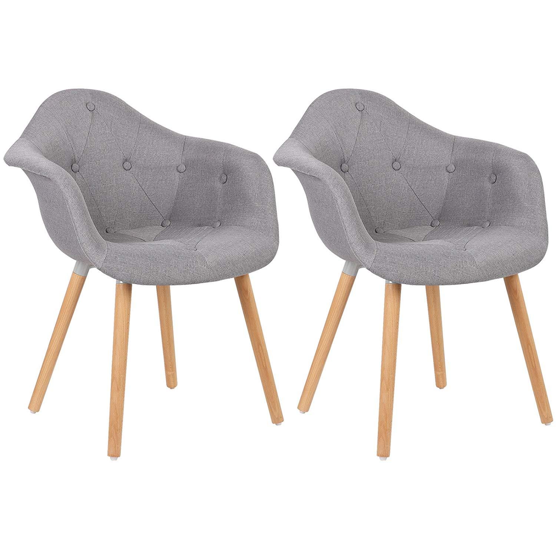2 x chaise salle manger avec dossier chaise cuisine en for Chaise cuisine plastique