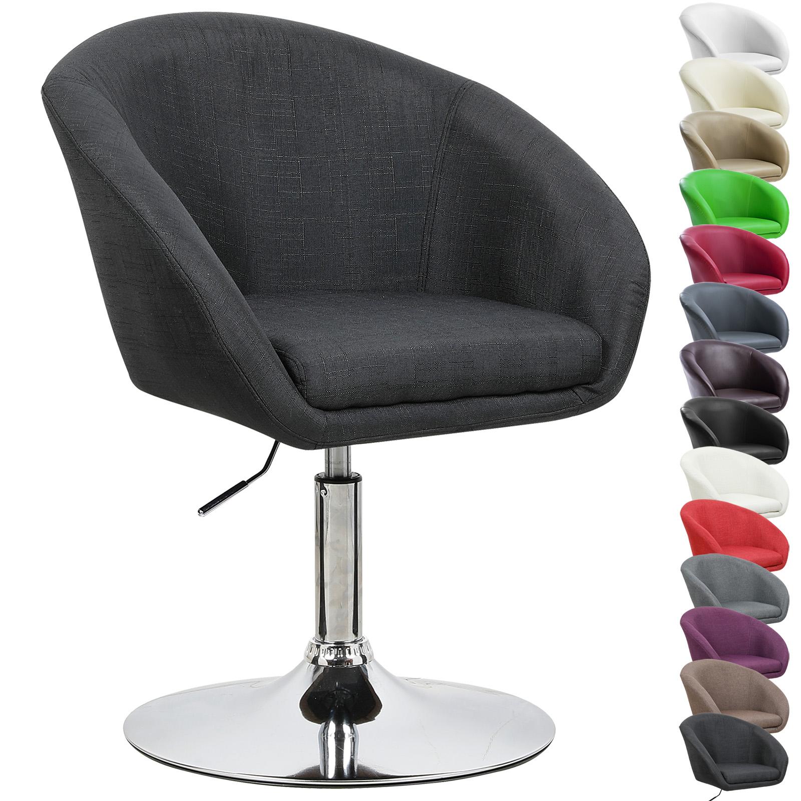 pu linen bar stools sofa breakfast kitchen adjustable chair chrome set of 1 u026 ebay. Black Bedroom Furniture Sets. Home Design Ideas