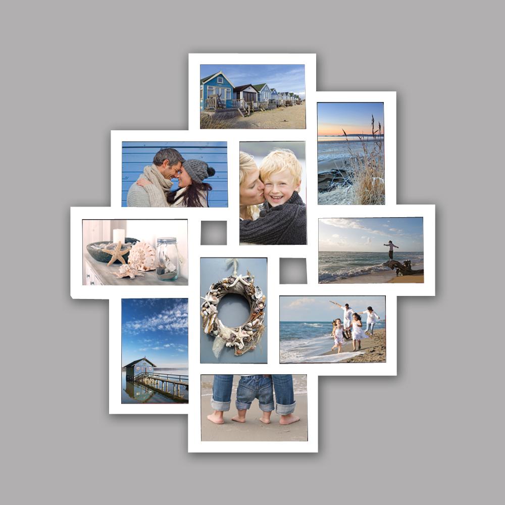 Bilderrahmen Fotogalerie 10 Bilder Kunststoff Bildergelarie Collage ...