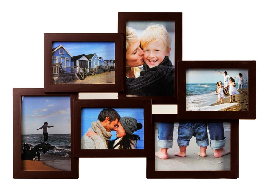 bilderrahmen collage fotogalerie rahmen 10 fotos wei. Black Bedroom Furniture Sets. Home Design Ideas