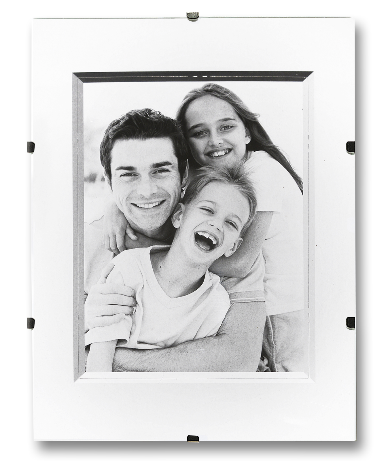 rahmenloser bilderrahmen bilderhalter bildtr ger. Black Bedroom Furniture Sets. Home Design Ideas