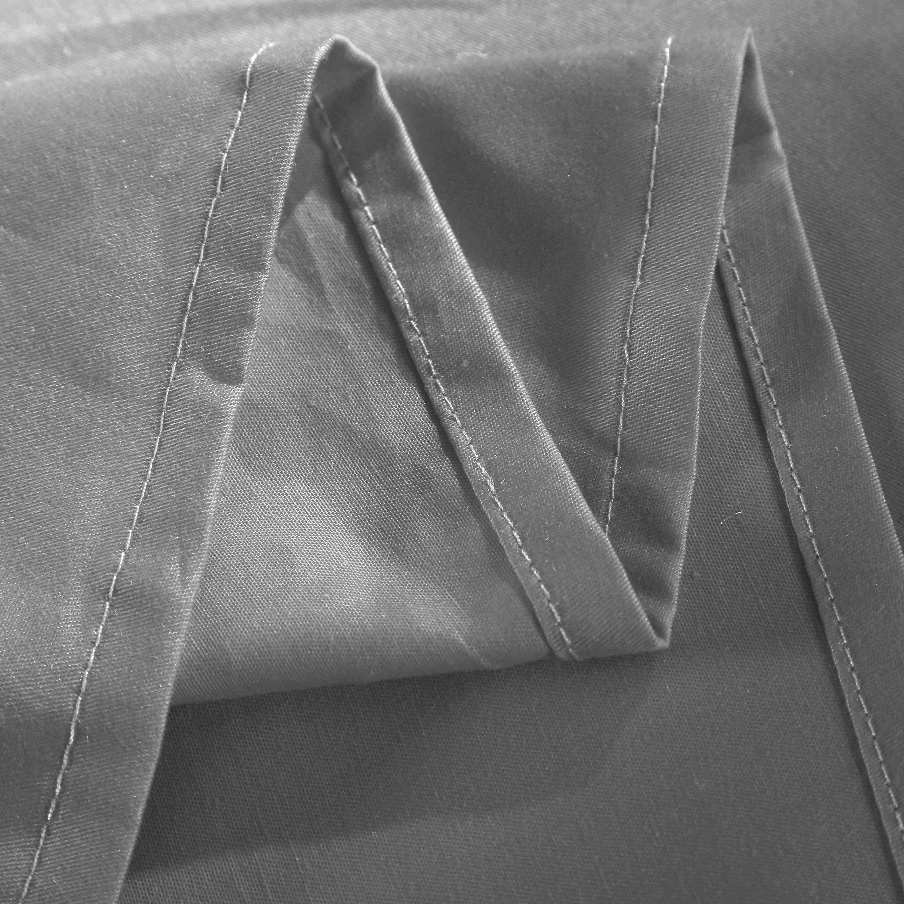 2x tagesdecke bettlaken bett berwurf baumwolle dunkelgrau 240x250cm bw5003dgr 2 ebay. Black Bedroom Furniture Sets. Home Design Ideas
