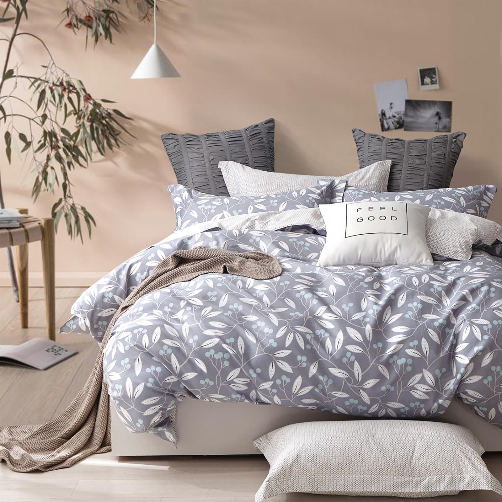 bettw sche 155x220 cm bettgarnitur bettbezug satin baumwolle kuschelig bws02m02 ebay. Black Bedroom Furniture Sets. Home Design Ideas