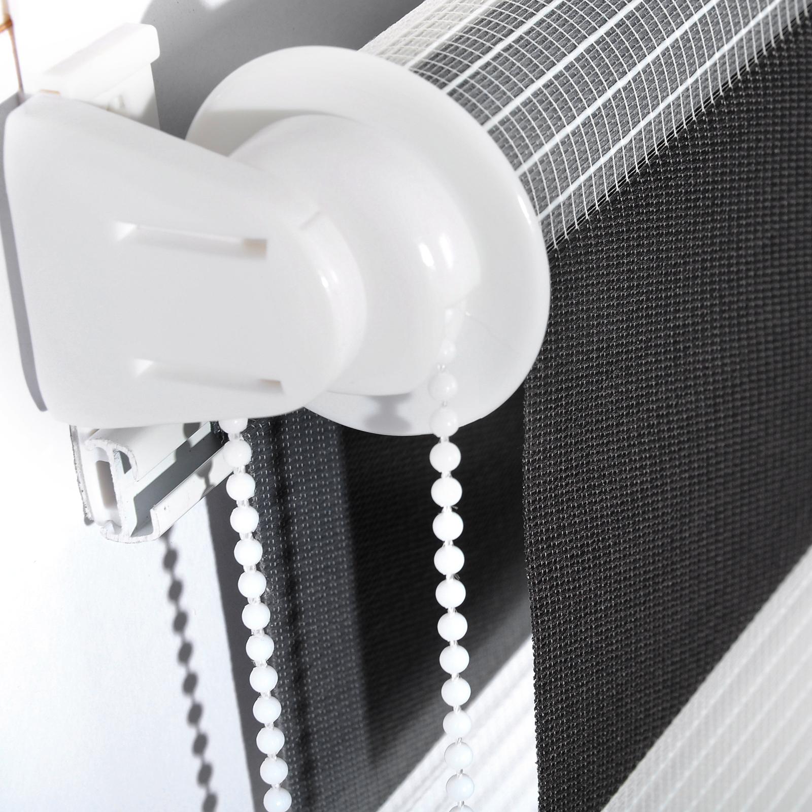 doppelrollo duo rollo klemmfix ohne bohren easyfix fenster seitenzugrollo 462. Black Bedroom Furniture Sets. Home Design Ideas