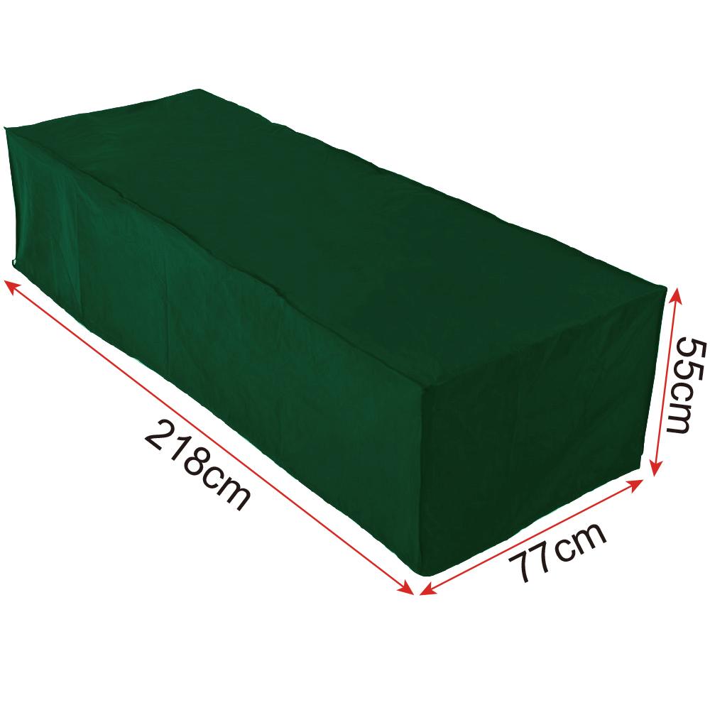 schutzh lle abdeckplane abdeckhaube abdeckung sonnenliege gartenliege gz1173 ebay. Black Bedroom Furniture Sets. Home Design Ideas