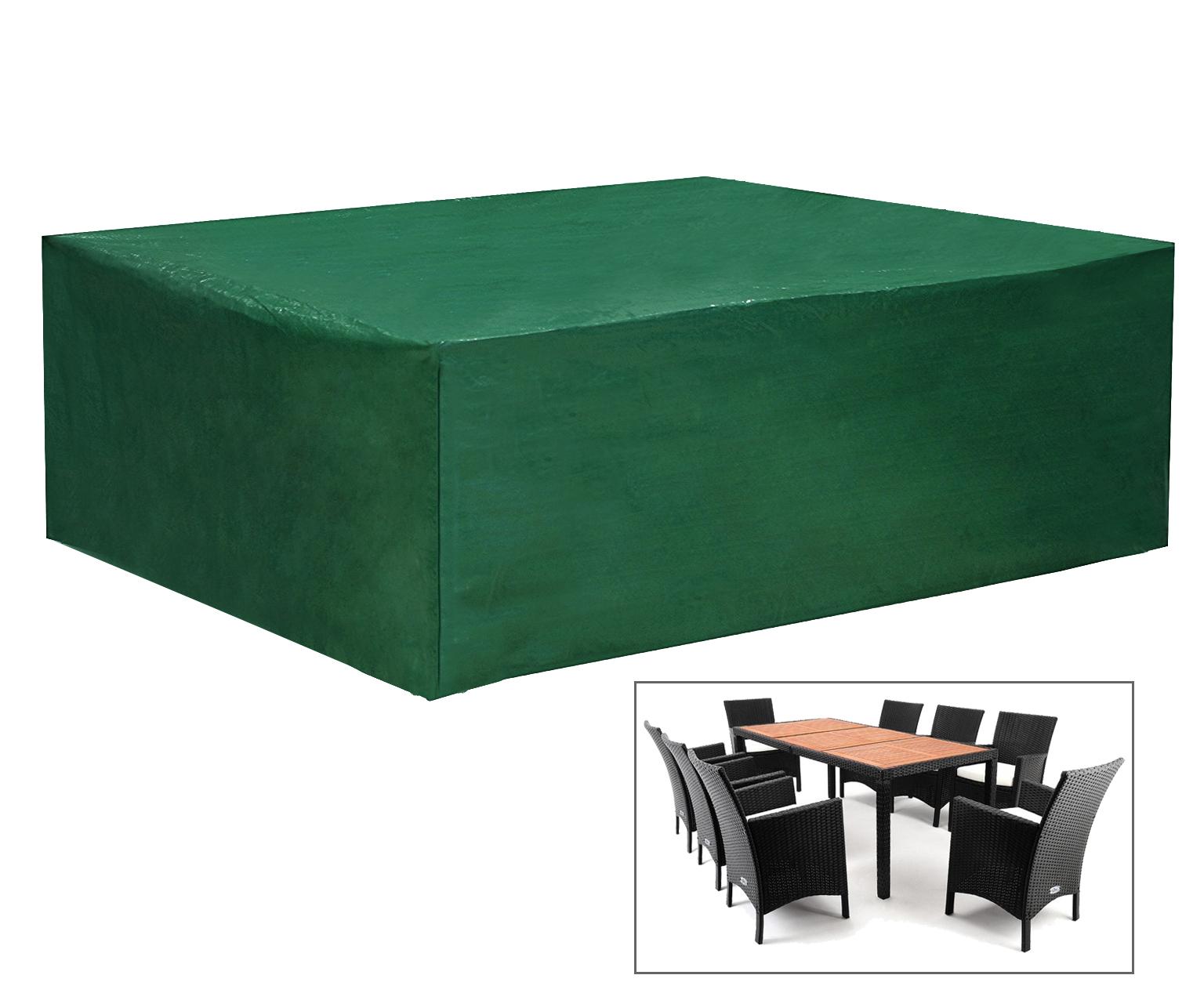 schutzh lle gartenm bel schutzplane abdeckung h lle sitzgruppe strandkorb 350 ebay. Black Bedroom Furniture Sets. Home Design Ideas