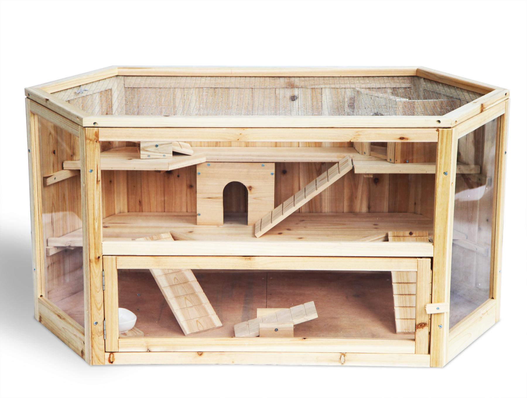 hamsterk fig nagerstall m usek fig rattenk fig kleintierk fig k fig holz 244 ebay. Black Bedroom Furniture Sets. Home Design Ideas