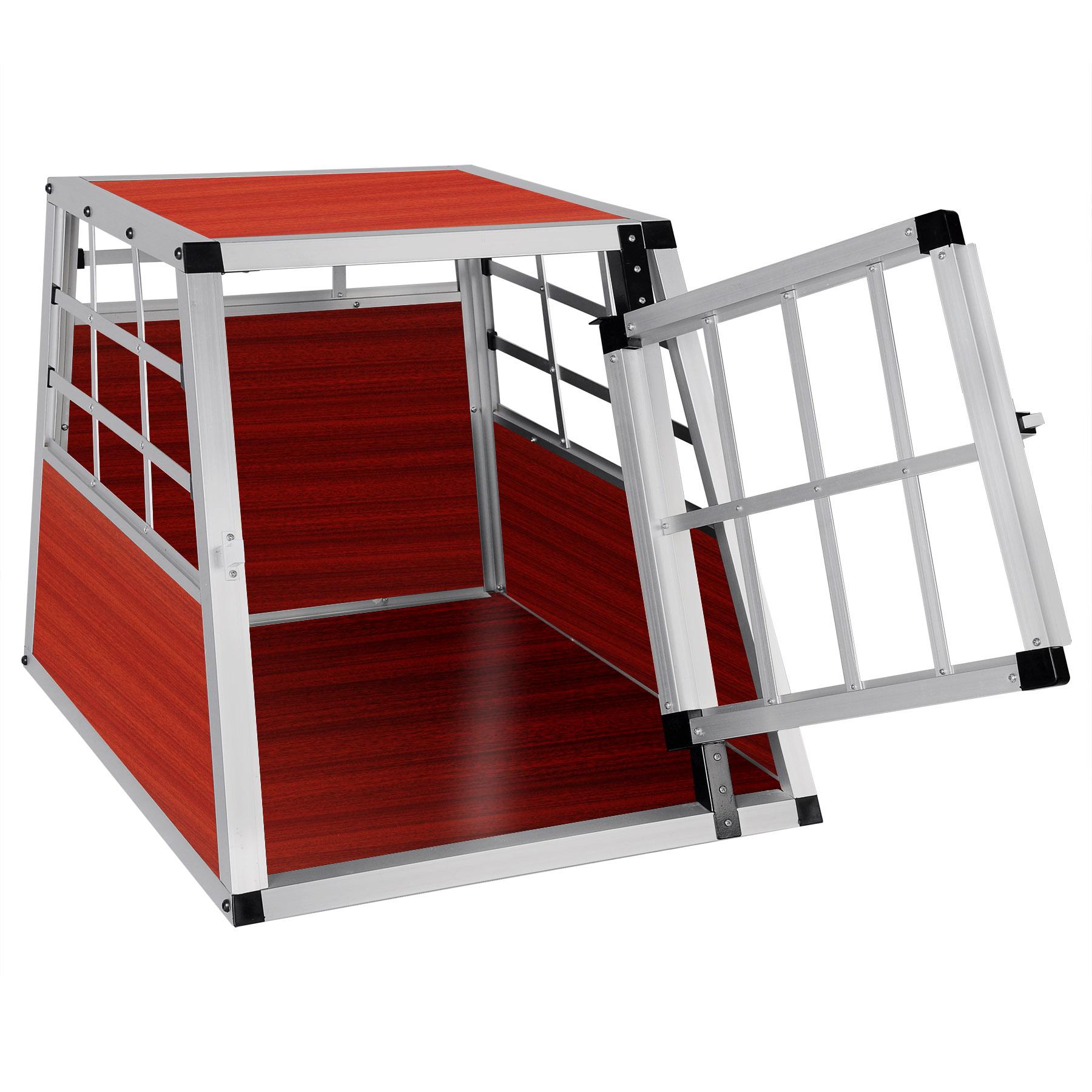 hundetransportbox hundebox alu hunde reisebox gitterbox. Black Bedroom Furniture Sets. Home Design Ideas