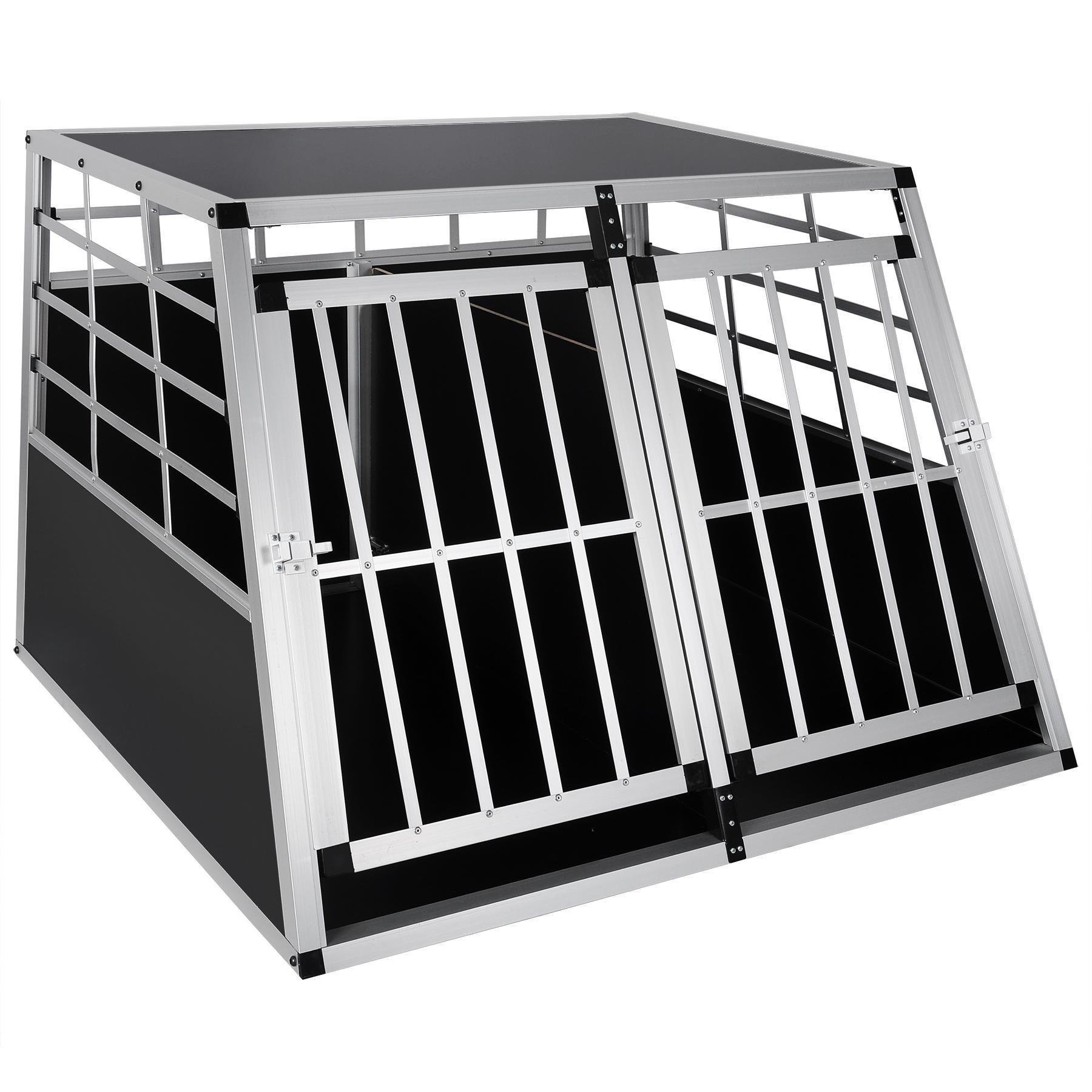 hundebox hundetransportbox alu hund box gitterbox. Black Bedroom Furniture Sets. Home Design Ideas