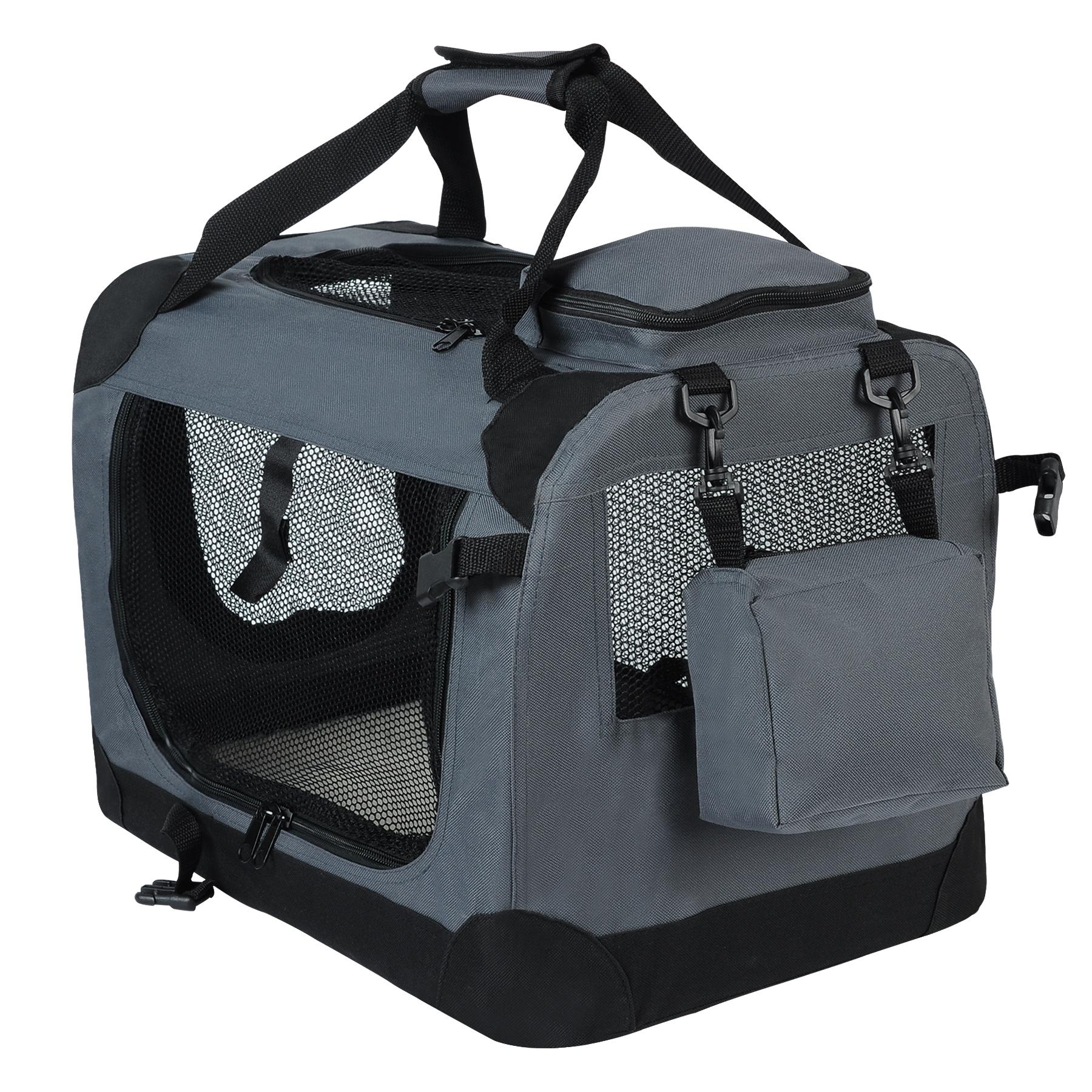 Caisse de transport pliable pour chien sac de transport - Caisse de rangement exterieur ...