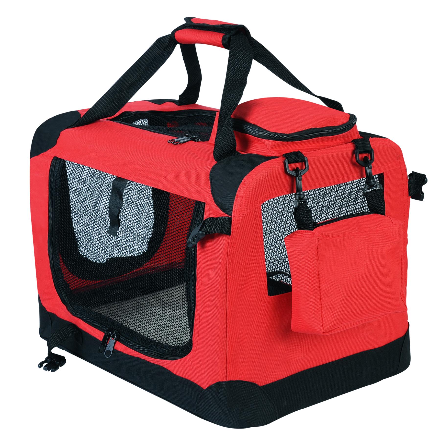 Caisse de transport pliable pour chien sac de transport for Sac de ragreage exterieur