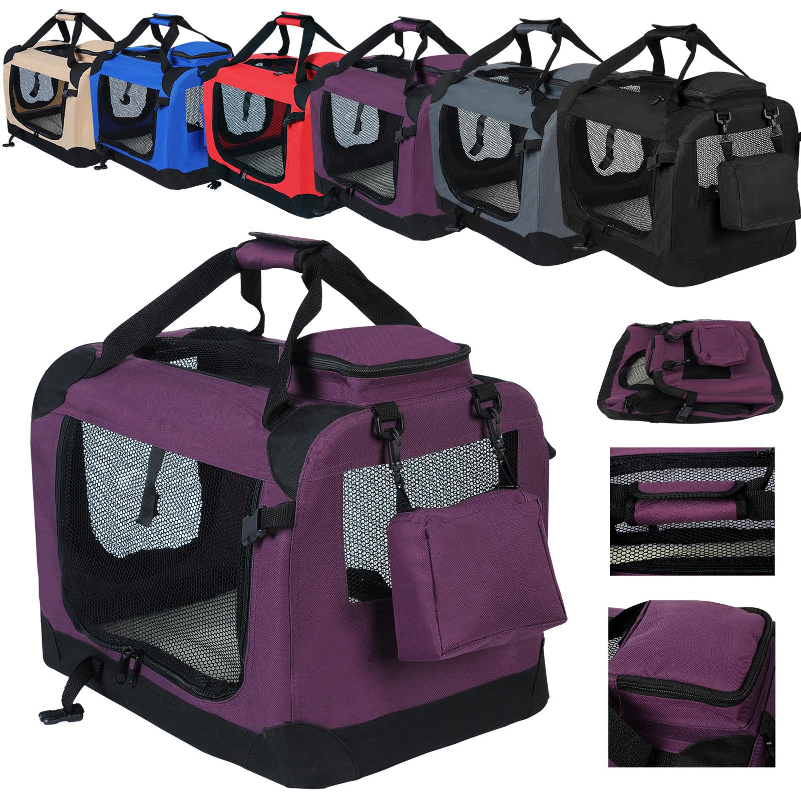 faltbare hundebox hundetransportbox reisebox auto hunde. Black Bedroom Furniture Sets. Home Design Ideas